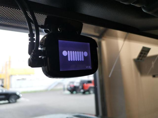 ジープ純正ドライブレコーダー2ch付き