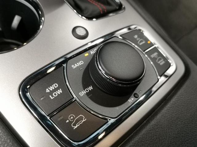 トレイルホーク 限定車 4WD ワンオーナー/禁煙車/ナビ/スマートキー/アダプティブクルーズコントロール/アルパイン製プレミアムサウンドシステム/レザーシート(スエードインサート入り)/パワーリアゲード(11枚目)