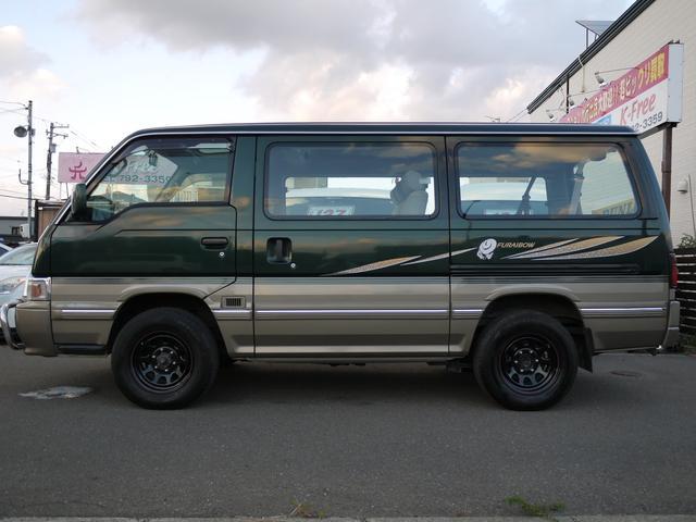 日産 キャラバンコーチ フウライボウ 4WD 1ナンバー公認 デイトナタイプホイール