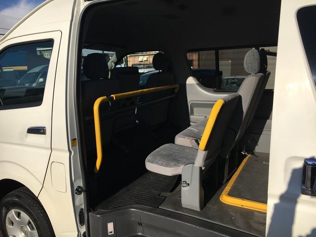 トヨタ レジアスエースバン ロングワイド ハイルーフ 4WD ウェルキャブ リフトアップ