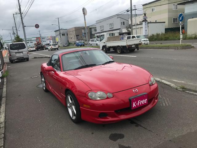 マツダ ロードスター RS-II キセノン 専用革シート