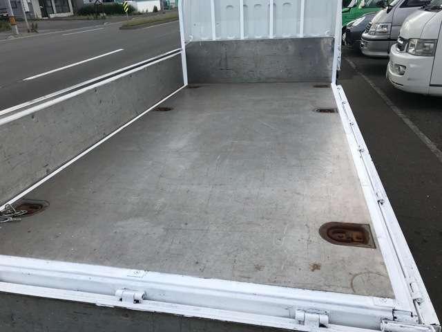 ロング全低床DXAB  4WD 荷台塗装済 ETC(11枚目)