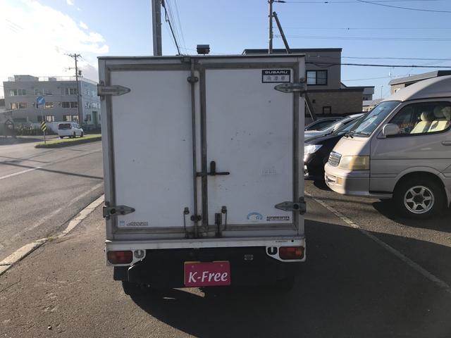 ベースグレード 冷凍冷蔵 4WD バックカメラ 冬タイヤ有(4枚目)
