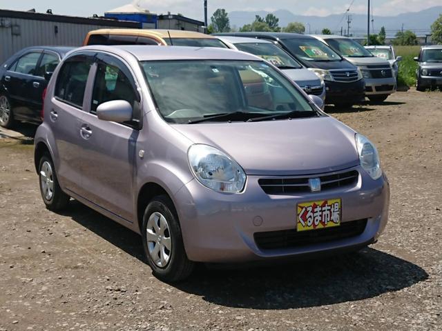 「トヨタ」「パッソ」「コンパクトカー」「北海道」の中古車4