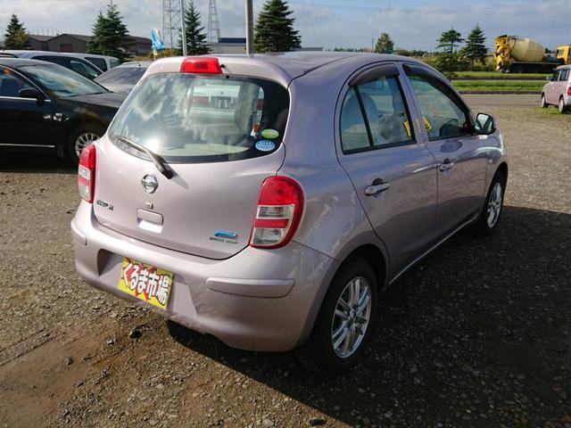 「日産」「マーチ」「コンパクトカー」「北海道」の中古車6