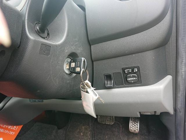 キーレスアクセス装備でドアの施錠もカギの差し込み不要!