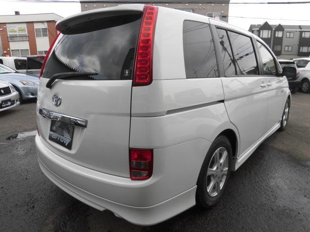 トヨタ アイシス L 60thSPエディション ナビDTV ローダウン 4WD
