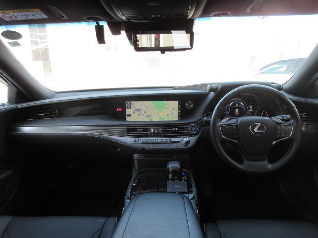 LS500h Iパッケージ レクサスセーフティシステム サンルーフ 夏冬タイヤ ドライブレコーダー SDナビDTV デジタルインナーミラー ヘッドアップディスプレイ ETC(26枚目)