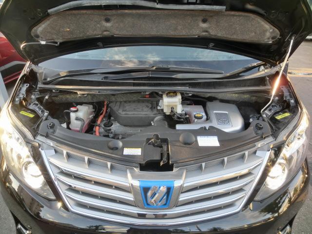 トヨタ アルファードハイブリッド SR4WD純HDDナビ地デジBカメラ 両側パワスラ Pバック