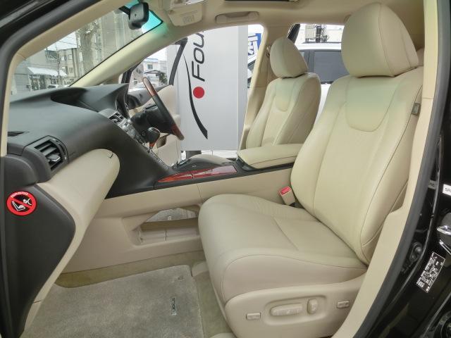 レクサス RX RX450h バージョンL4WD禁煙 ベージュ革 サンルーフ