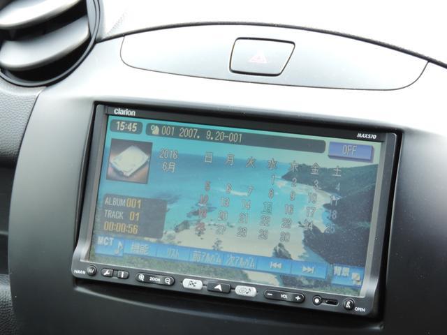 マツダ デミオ 13S 純正エアロ リアスポ キーレス 切替4WD