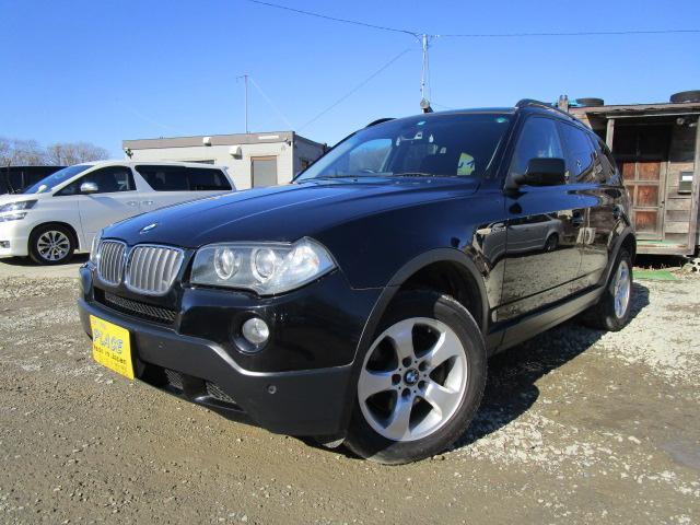 BMW BMW X3 2.5si 4WD 純正ナビ