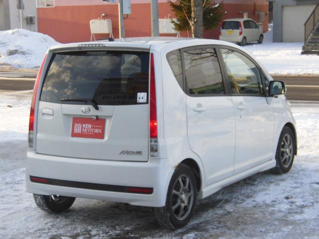 ダイハツ ムーヴ カスタム Xリミテッド ユーザー買取車 4WD 外HDDナビ