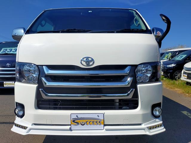 ロングスーパーGL 4WD 本州仕入れ 寒冷地仕様 SDナビ フルセグ バックカメラ 社外アルミ 新品シートカバー(2枚目)