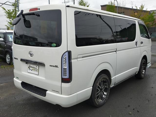 ロングスーパーGL 4WD 本州仕入れ 寒冷地仕様 SDナビ フルセグ バックカメラ 社外アルミ 新品シートカバー(8枚目)