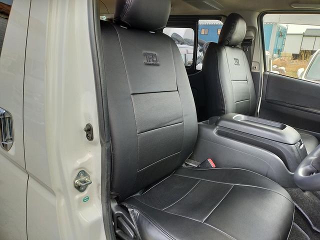 ロングスーパーGL 4WD 本州仕入れ 寒冷地仕様 SDナビ フルセグ バックカメラ 社外アルミ 新品シートカバー(16枚目)