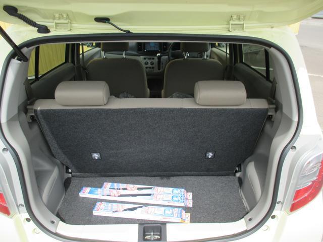 ダイハツ ミライース Xf メモリアルエディション 4WD 社外ナビ