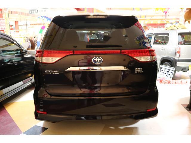 トヨタ エスティマハイブリッド X 4WD SDナビTV パワースライドドア スマートキー