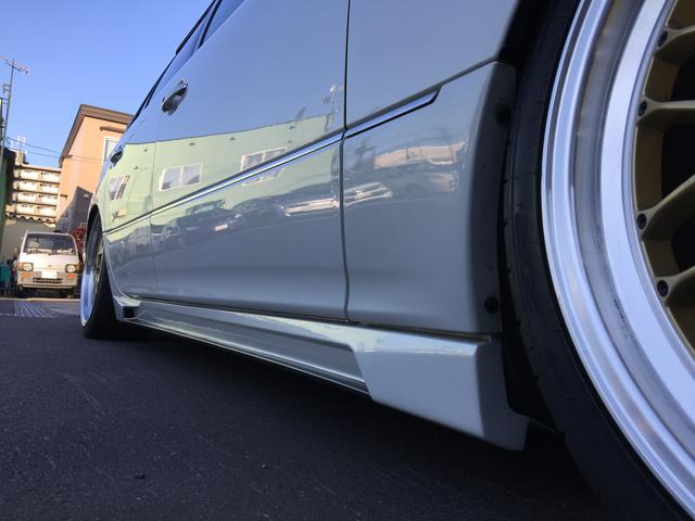 トヨタ セルシオ C仕様後期 ブラックパールコンプリートエアロ 20インチ