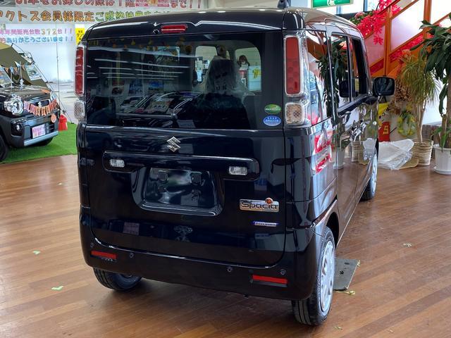 ハイブリッドG 4WD スズキセーフティサポート デュアルカメラブレーキ 両側スライドドア シートヒーター マイルドハイブリッド アイドリングストップ オートライトシステム プッシュスタート 電動格納ドアミラー(6枚目)