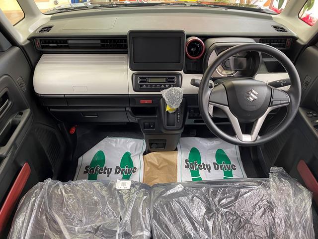 ハイブリッドG 4WD スズキセーフティサポート デュアルカメラブレーキ 両側スライドドア シートヒーター マイルドハイブリッド アイドリングストップ オートライトシステム プッシュスタート 電動格納ドアミラー(13枚目)