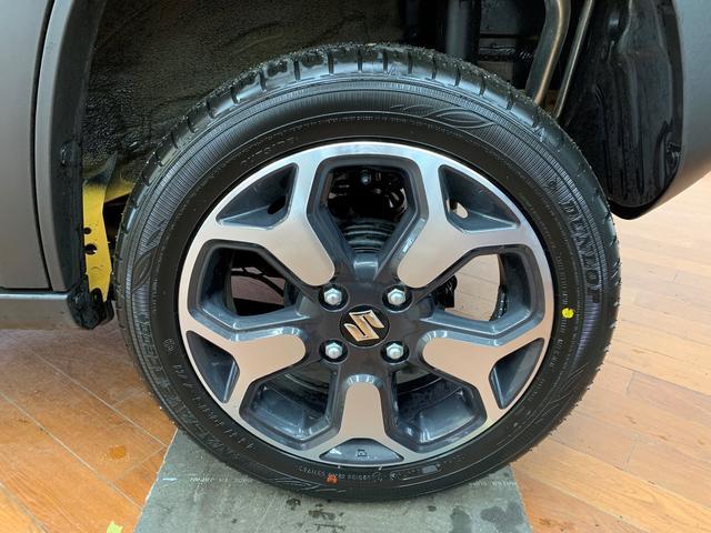 ハイブリッドX 4WD マイルドハイブリッド スズキセーフティサポート デュアルカメラブレーキ アイドリングストップ 15インチ純正アルミホイール LEDヘッドライト プッシュスタート シートヒーター(17枚目)