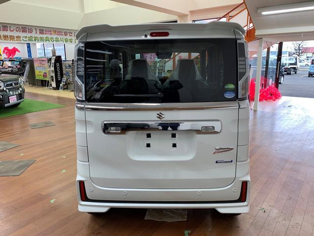 ハイブリッドXS 4WD 登録済み未使用車 スマートキー 両側パワースライド ABS 横滑り防止装置 シートヒーター 盗難防止装置 寒冷地仕様 アイドリングストップ(7枚目)