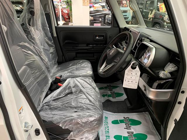 ハイブリッドXS 4WD 登録済み未使用車 スマートキー 両側パワースライド ABS 横滑り防止装置 シートヒーター 盗難防止装置 寒冷地仕様 アイドリングストップ(9枚目)