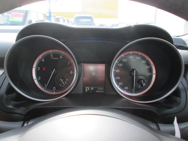 カッコいいメーターで運転時の気分が上がります!