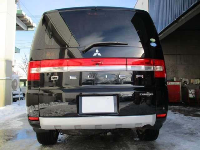 三菱 デリカD:5 シャモニー 4WD 寒冷地仕様 リアモニター