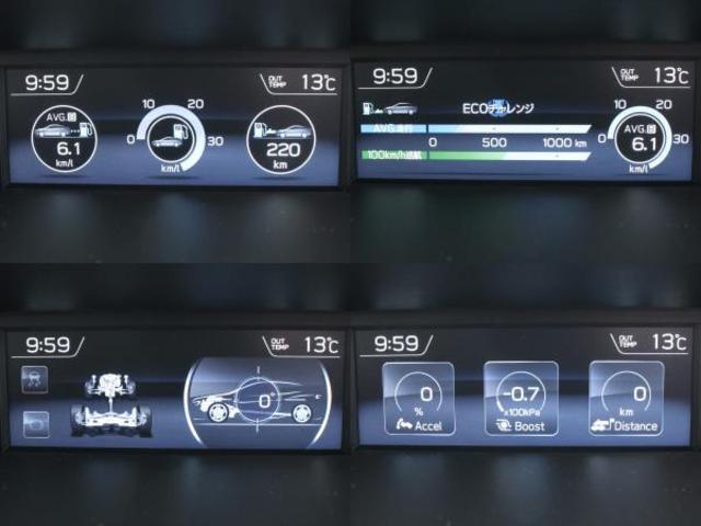 1.6GTアイサイト Sスタイル 8型ナビTV セイフティプラス(運転支援/視界拡張) スマートリアビューM LEDヘッド ダイアトーンサウンド シートヒーター フロント&サイドカメラ AWD(28枚目)