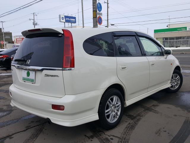 ホンダ ストリーム L 4WD カロッツェリアHDDナビTV