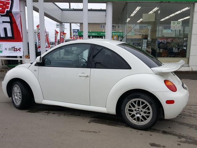フォルクスワーゲン VW ニュービートル プラス 黒革 サンルーフ