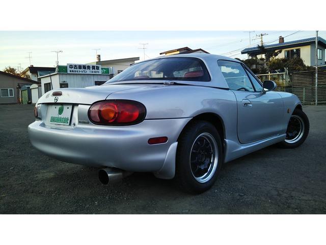 「マツダ」「ロードスター」「オープンカー」「北海道」の中古車5