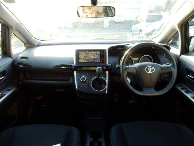 トヨタ ウィッシュ 1.8S 4WD HDDナビ Bカメラ スマートキー 寒冷地