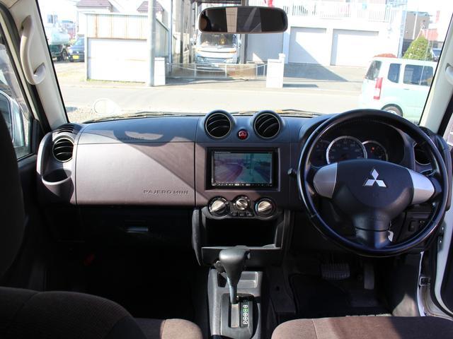 三菱 パジェロミニ VRターボ4WD 1年保証 HDDナビ 地デジTV