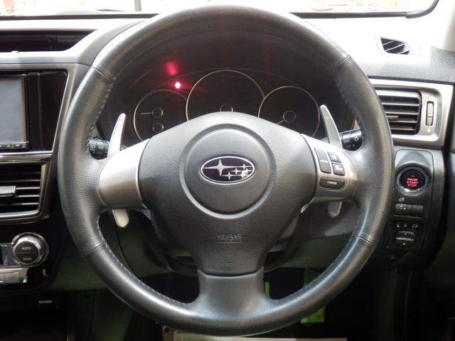 2.0i-Sリミテッド 4WD 修復歴無し クルーズコントロール 横滑り防止 プッシュスタートエンジン パワーシート MTモード パドルシフト デュアルオートエアコン 社外ナビ フルセグ 寒冷地仕様(10枚目)