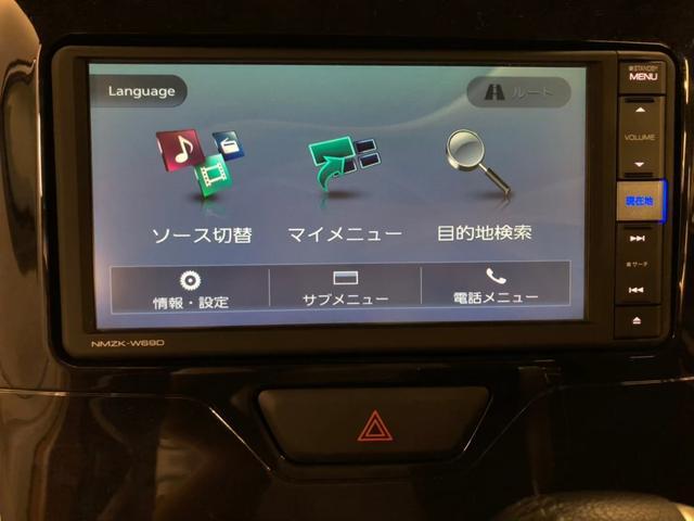 純正ワイドエントリー7インチメモリーナビ☆DVD再生/フルセグ/Bluetooth対応☆スマートフォン連携可能☆