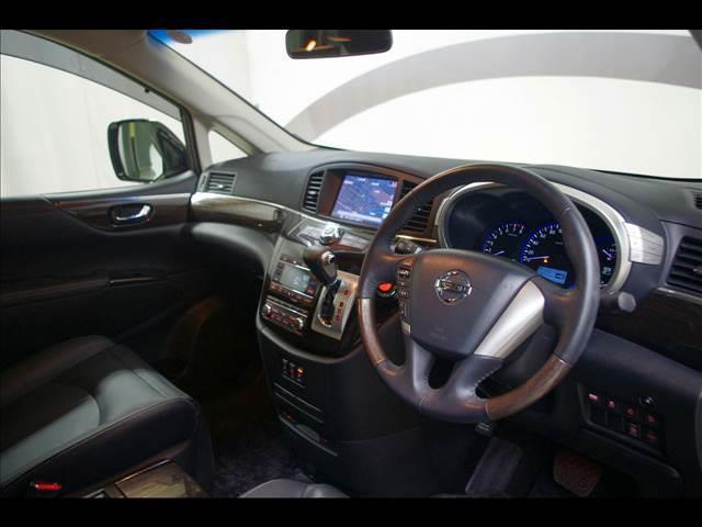 日産 エルグランド 250HWS アバクロBレザー 4WD 全周囲カメラ
