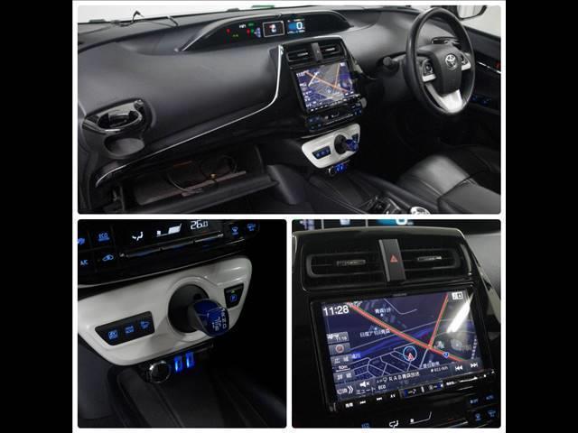 S 社外18インチアルミホイール 革調シートカバー デアイサー サンルーフ 社外ツインマフラー アルパイン9型ナビ 社外スピーカー プリクラッシュセーフティー LEDヘッドライト LEDルームランプ(19枚目)