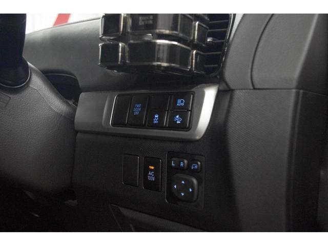 アエラス プレミアム 純正9インチナビ フルセグテレビ バックモニター 後席フリップダウンモニター TRDアンダーエアロ 両側電動スライドドア ETC LEDヘッドライト ハーフレザーシート パワーシート ドライブレコーダ(35枚目)