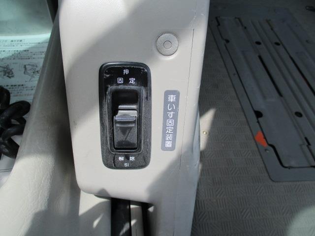 車椅子移動車 4WD 10人乗 オートステップ リアヒーター(18枚目)