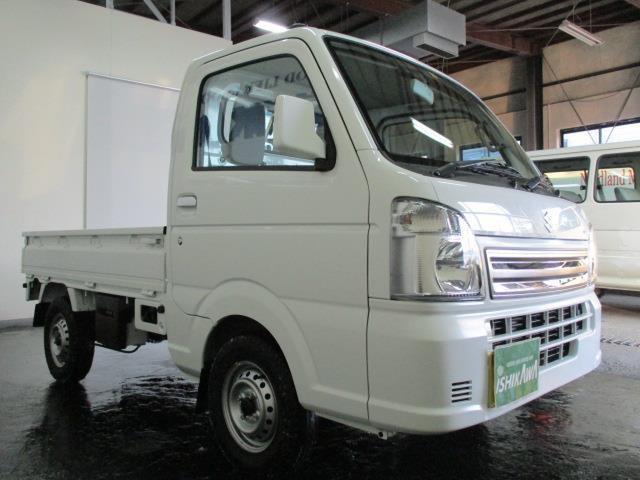 スズキ キャリイトラック KCエアコン・パワステ 4WD PW 5MT 届出済未使用車