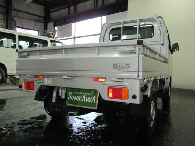 スズキ キャリイトラック KCエアコン・パワステ 4WD AT 届出済未使用車