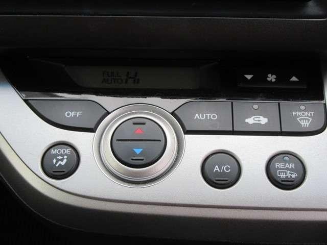 オートフルエアコンディショナー付き!ボタン式なので操作もラクラクで、分かりやすいです♪