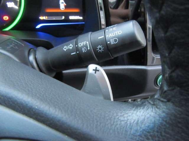 パドルシフトが付いているので、マニュアル感覚でドライブを楽しめます♪