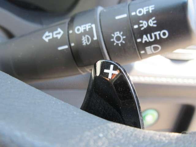 パドルシフト付きです☆マニュアル感覚でスポーティな運転ができます♪