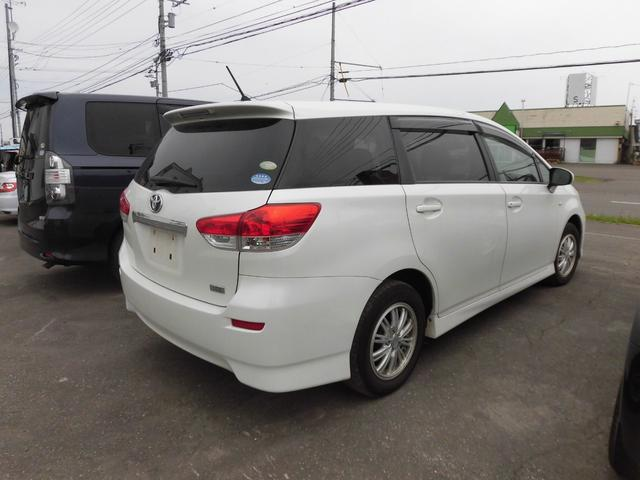 「トヨタ」「ウィッシュ」「ミニバン・ワンボックス」「北海道」の中古車6