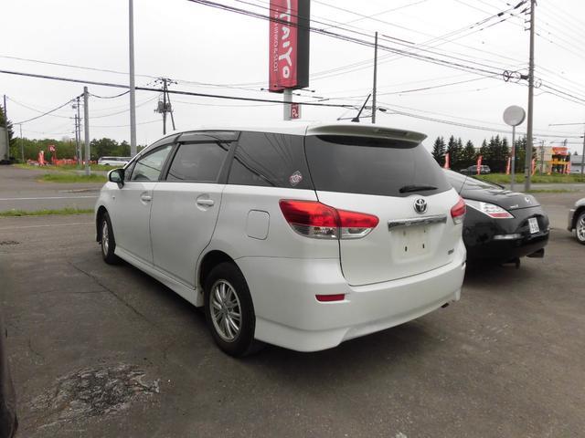 「トヨタ」「ウィッシュ」「ミニバン・ワンボックス」「北海道」の中古車7