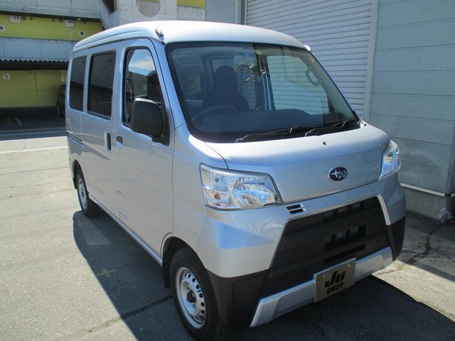 「スバル」「サンバーバン」「軽自動車」「北海道」の中古車3